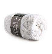 87eab1c09a9 Mayflower Cotton 8/4 - 1402 hvid