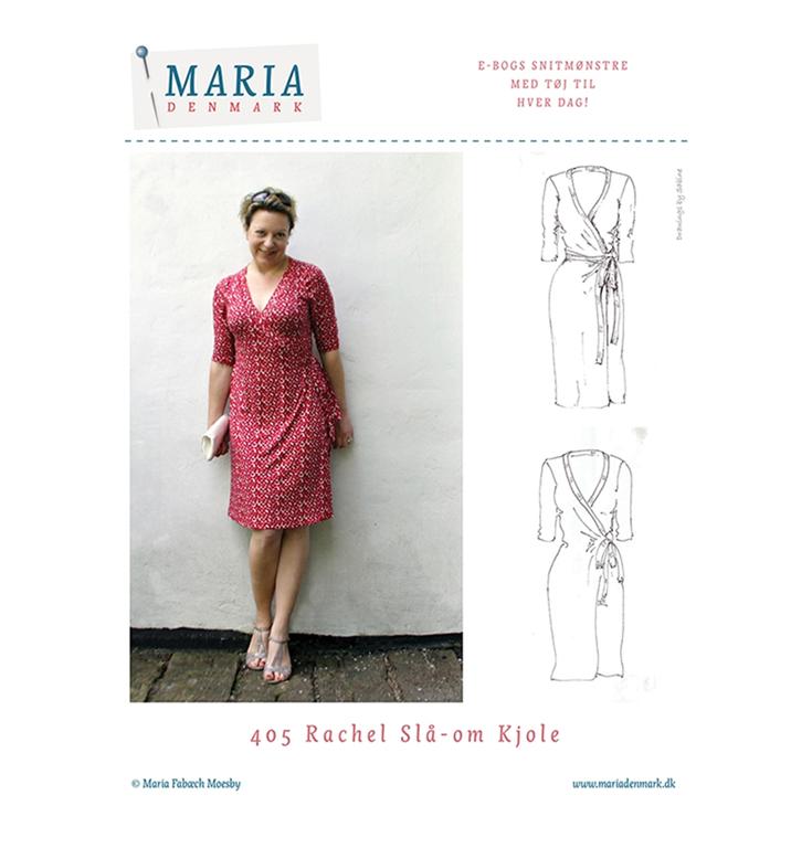 2873b8e72188 MariaDenmark Rachel slå-om kjole - køb den hos Stofgiganten