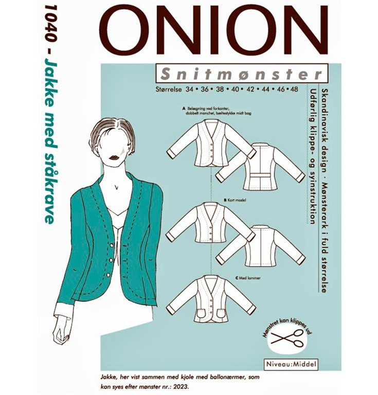 66c01b8c6380 Onion snitmønster nr. 1040 - køb hos StofGiganten.dk