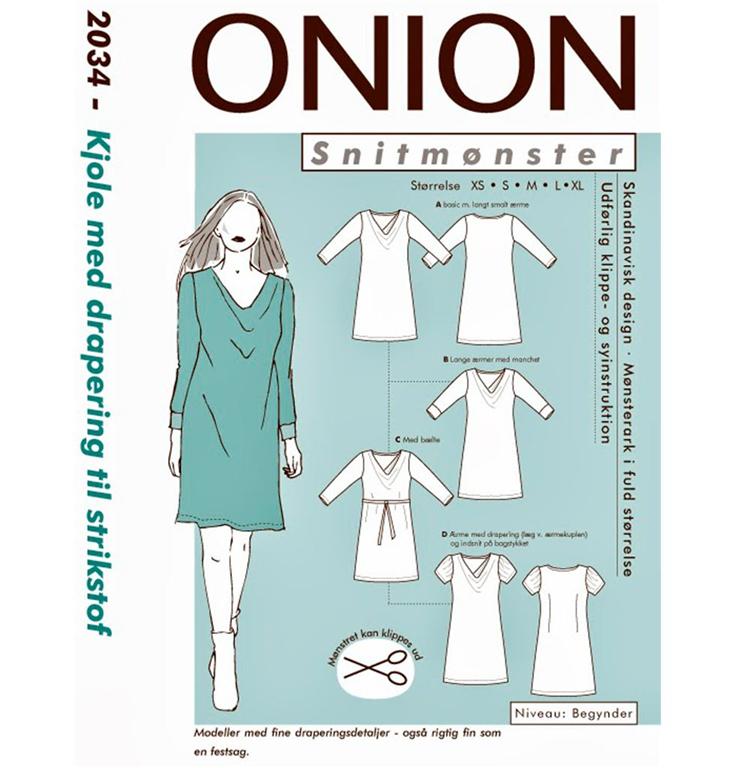 76e0bc26a Onion snitmønster nr. 2034 - StofGiganten.dk