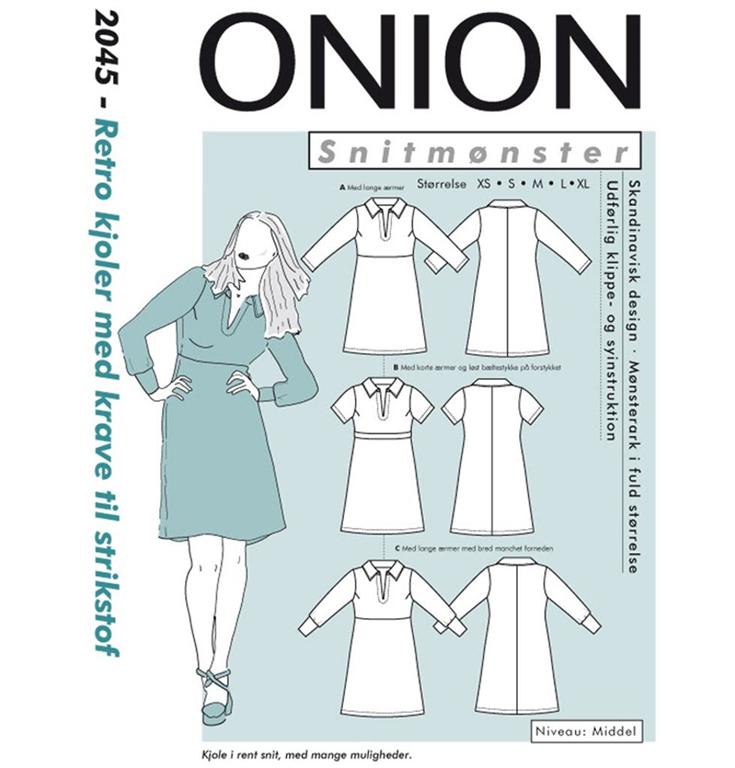 23a24cd1df2f Onion snitmønster nr. 2045 - StofGiganten.dk