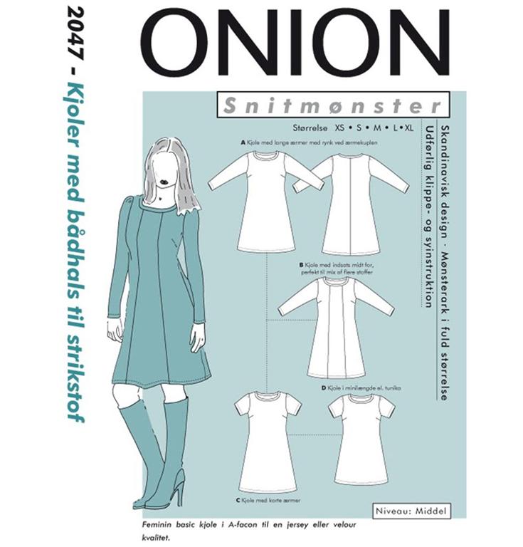 e1a18a57d109 Onion snitmønster nr. 2047 - StofGiganten.dk