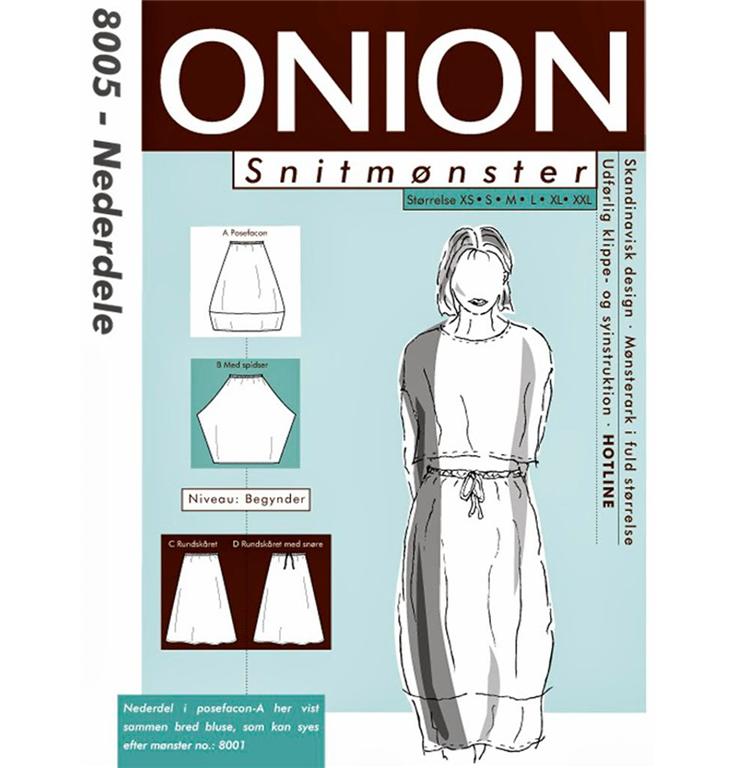Onion snitmønster nr. 8005 StofGiganten.dk