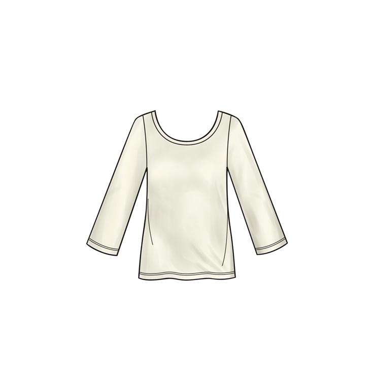 Simplicity S8993A jakke, top, nederdel, buks med 4